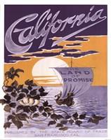 California ad Fine Art Print