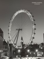 Ferris Wheel, London Fine Art Print