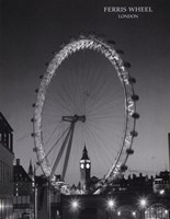 Ferris Wheel, London Framed Print