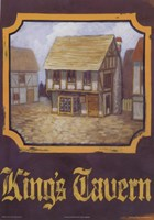 King's Tavern Fine Art Print