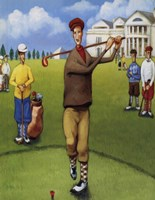 The First Tee Fine Art Print