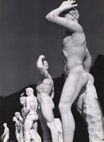 Roman Statues Framed Print