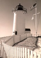 Lighthouse Isle Fine Art Print