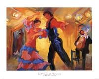 La Pareja del Flamenco Fine Art Print