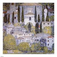 Church at Cassone on garda Fine Art Print