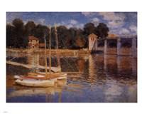 Il Ponte d'Argenteuil Framed Print