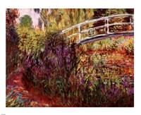 Le Pont Japonais Fine Art Print