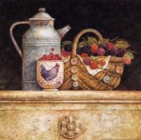 Berries and Whitewash Fine Art Print