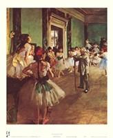 Dancing Class Fine Art Print