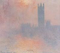 London Houses of Parliament Fine Art Print