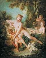 Venus Consoling Love Fine Art Print