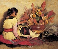 Crucita, a Taos Indian Girl Fine Art Print