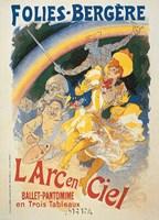 L'Arc en Ciel Framed Print