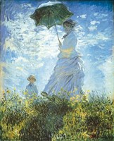 Madame Monet and Her Son Fine Art Print