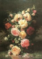 Bouquet de Roses Fine Art Print