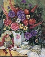 Victorian Bouquet II Fine Art Print