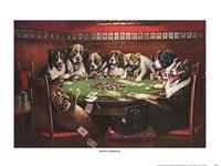 Poker Sympathy Framed Print