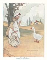 Goosey, Goosey, Gander Fine Art Print