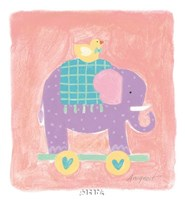 Elephant Toy Fine Art Print
