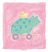 Frog Toy Fine Art Print