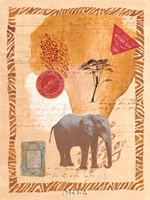 Travel Elephant Fine Art Print
