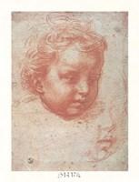 Head of a Child Fine Art Print