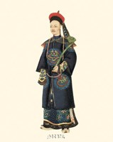 Chinese Mandarin Figure VI Fine Art Print