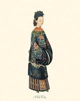 Chinese Mandarin Figure II Framed Print