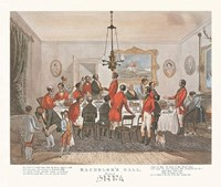 Bachelor's Hall/Plate No. 6 Framed Print