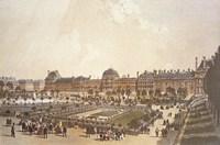 Palais des Tuileries Framed Print