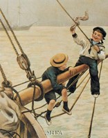 Jolly Little Sailor Fine Art Print