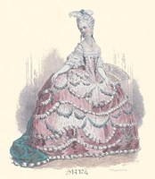 French Costumes Fine Art Print