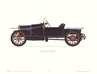 Bugatti 1910 Framed Print