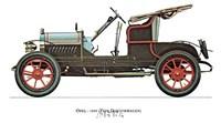 Opel 1909 Framed Print