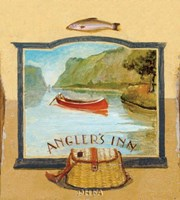 Angler's Inn Fine Art Print