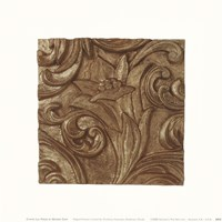 Copper Lily Frieze Framed Print