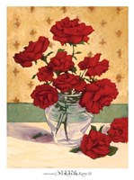 Rue Cler Roses II Fine Art Print