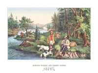 Hunting Fishing & Forest Scenes Fine Art Print