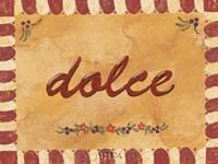 Dolce Framed Print