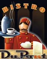 Bistro DuPont Fine Art Print