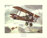 Sopwith Camel, 1917 Framed Print