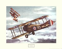 French Spad, 1916 Framed Print