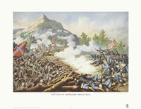 Battle of Kenesaw Mountain Fine Art Print