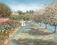 In the Rose Garden Fine Art Print