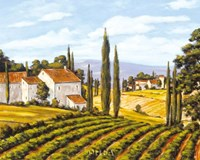 A View of the Valley - field Fine Art Print