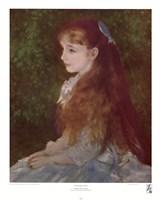 Mademoiselle Irene Framed Print