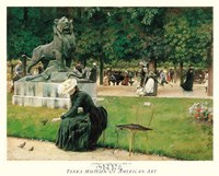 In the Luxembourg (Garden), 1889 Fine Art Print