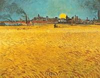 Cornfields Near Arles Fine Art Print