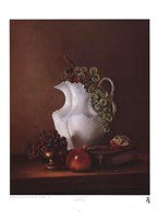 Still Life with Grapes Fine Art Print
