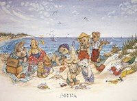 Bear Feats in the Sand Fine Art Print